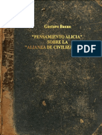 Pensamiento Alicia Alianza Civilizaciones