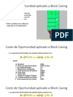 Costo de Oportunidad Aplicado a Block Caving (1)
