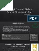 Strategi Dakwah Dalam Bentuk Organisasi Islam