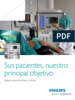 Maquina de Anestesia Whispa Español