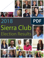 2018 Sierra Club MI Election Report
