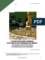 Extracción de Arena y Minerales de Río