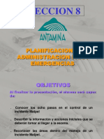8 MP Administración de Emergencias