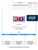 3D SSMA PR 08 Vigilancia Médica Ocupacional