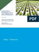 Tendencias del consumo alimentario y estrategias de la gran distribución