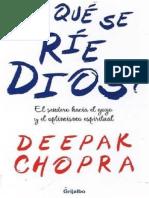 ¿De qué se ríe Dios - Deepak Chopra.pdf