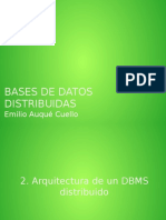 2-Arquitectura de Un Dbms Distribuido