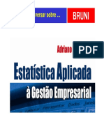 1 EstatisticaAplicadaGestaoEmpresarial 060355140 CD [Modo de Compatibilidade]