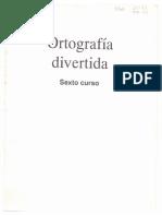 ORTOGRAFÍA DIVERTIDA