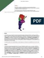 mapa folklorico argentino