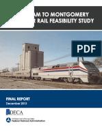 BHM-MGM Passenger Rail Study
