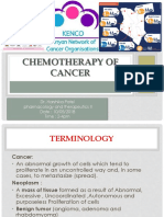 Chemotherapy of Cancer...