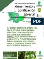 INSTRUMENTOS DE PLANIFICACIÓN PARA LA GESTIÓN FORESTAL Y DE FAUNA SILVESTRE