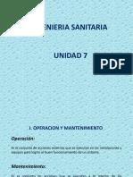 Operación y Mant. de Alcantarillado
