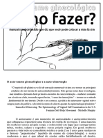Manual Autoexame Ginecolgico Como Fazer Manual Insubordinado