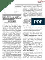 Decreto Supremo Que Modifica El Reglamento de La Ley n 2933 Decreto Supremo n 012 2018 Minagri 1711155 4