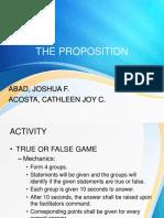 Proposition Final