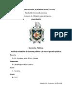 Gerencias Publicas Unidad IV