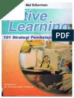 Mel Silberman Active Learning 101 Strategi Pembelajaran Aktif. Intro