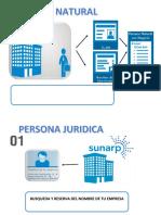 Empresa Natural y Juridica