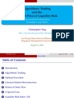 Algorithmic Trading and the Market Price of Liquidity Risk