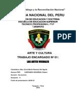 ARTES Y CULTURA