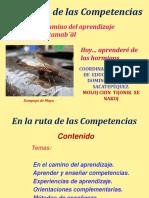 EN LA RUTA DE LAS COMPETENCIAS  .ppt
