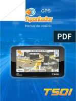 Manual Apontador T501 Hardware 03062011