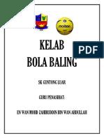 Cover Bola Baling