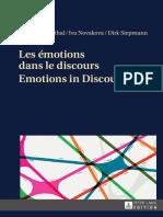 Peter Blumenthal (ed.), Iva Novakova (ed.), Dirk Siepmann (ed.)-Les émotions dans le discours _ Emotions in Discourse-Peter Lang (2014).pdf