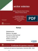Exposición - Sector Externo (Capítulo 5)