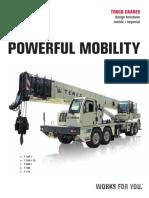 Truck Crane Range Brochure