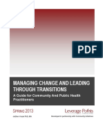 Managing Change Leading Transitions