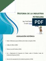 Legislación Petrolera