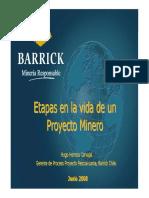 04. Etapas en La Vida de Un Proyecto Minero