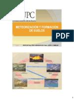 Meteorizacion y Foramacion de Suelos