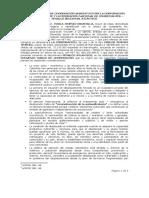 Convenio Marco de Cooperaci%c3%93n Suscrito Entre La Fuconvenio Marco Fenalco-Volver a La Gente[1]