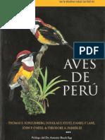 Aves de Perú - Schulemberg