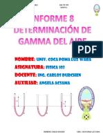 8 Determinacion de Gamma Del Aire Coca Poma Luz Wara