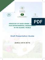 KSAAEM Presentation Guide Kingdom of Saudi Arabia Award for Environmental Management in the Islamic World