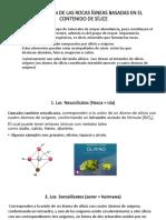 Clasificación de Las Rocas Ígneas Basadas en El Contenido de Silice-2