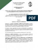 Acuerdo Nº 043 de 2013