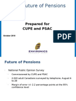 The Future of Pensions