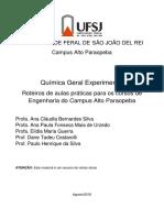 Apostila UFSJ quimica experimental