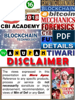 BLOCKCHAIN TECHNOLOGY OVERVIEW & CRYPTOCURRENCY CRIMES