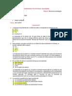 Cuestionario Electronica