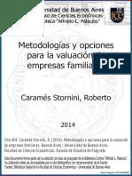 Metodologías Para Valuación de Empresas Familiares