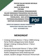 Bantuan Parppol Permendagri 36 2018