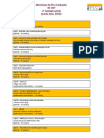 Agenda Workshops Da Pós 2-2018