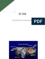EE 456 Synchronous Generators.ppt